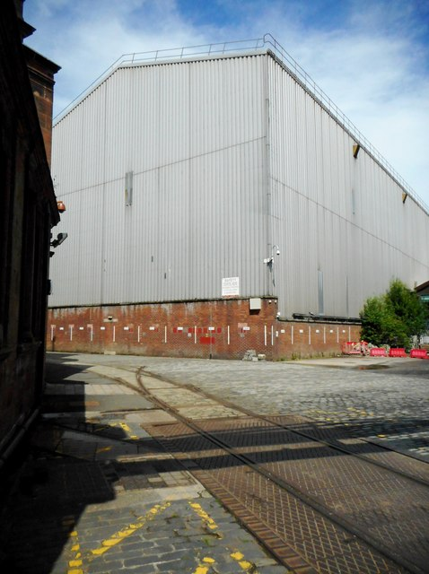 Plate Fabrication Shed, Fairfield Shipyard