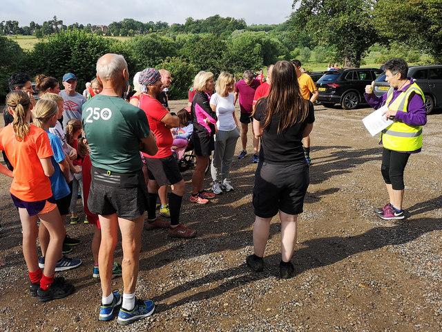 Panshanger Park Run 257 - Briefing for newbies