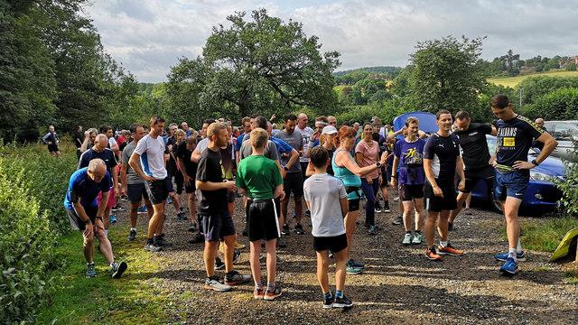 Panshanger Park Run 257 - Front runners