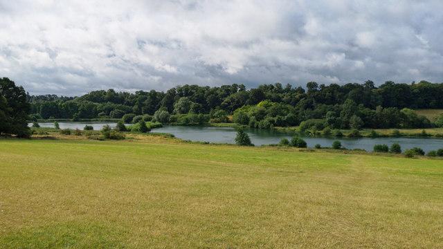 Osprey Lake in Panshanger Park