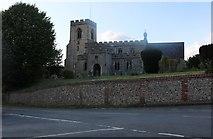 TL4238 : Great Chishill Church by David Howard