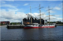NS5565 : The Tall Ship and Riverside Museum by Richard Sutcliffe