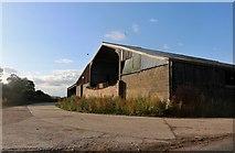 TL4134 : Barn in Nuthampstead by David Howard