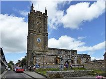 ST6601 : Cerne Abbas church by Robin Webster