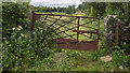 J5579 : BCDR gate near Donaghadee by Rossographer