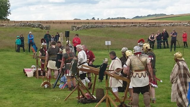 Roman Artillery Competition at Birdoswald