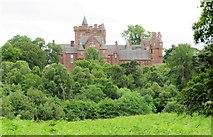 NH5043 : Beaufort Castle by Gordon Hatton