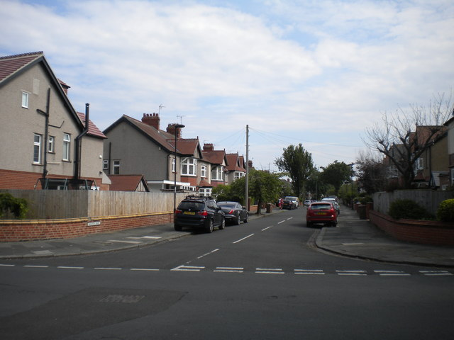 North end of Brighton Grove, Whitley Bay