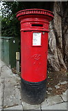 TQ3287 : Victorian postbox on Green Lanes by JThomas