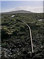 NB3938 : Dismantled tramway near Loch Mòr an Stàrr, Isle of Lewis by Claire Pegrum