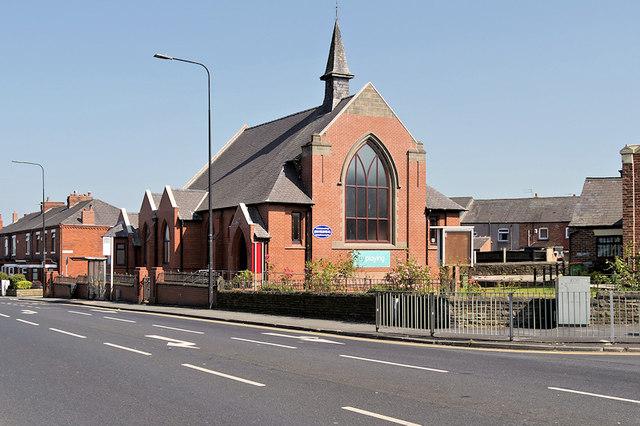 Pemberton Independent Methodist Church, Ormskirk Road