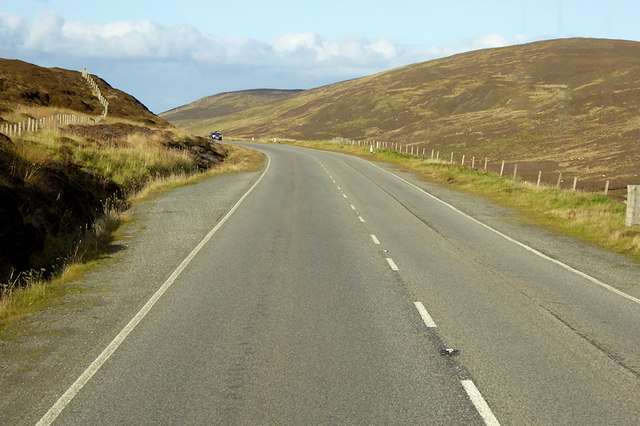 A970 north of Scalloway