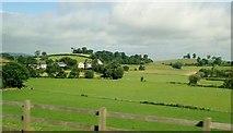 J2533 : Drumlins behind the hamlet of Cabra by Eric Jones