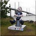 NH6647 : Oor Wullie, North Kessock by Craig Wallace