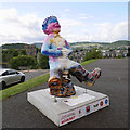 NH6645 : Oor Wullie, Inverness Castle by Craig Wallace