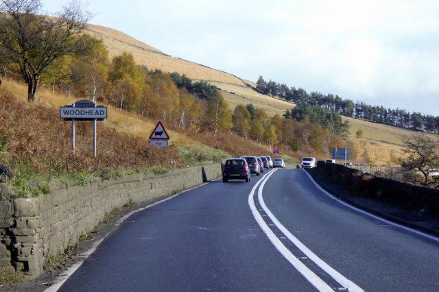 A628 road