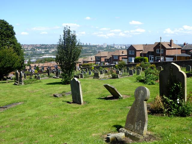 View from St Mary the Virgin's churchyard