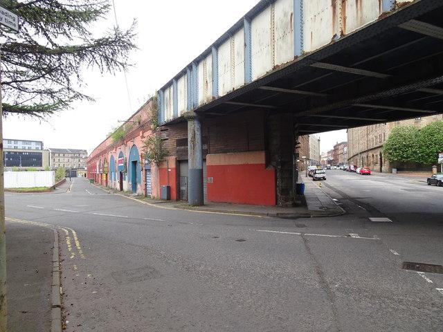 Gallowgate railway station (site), Glasgow