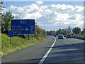 TL4255 : Southbound M11 near Grantchester by David Dixon