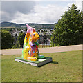 NH6645 : Go Nuts Squirrel, Inverness Castle by Craig Wallace