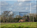 SO8669 : Worcestershire energy from waste plant by Chris Allen