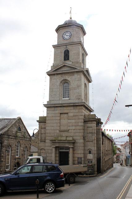 Town Hall, Higher Market Street, Penryn