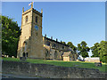 SE3428 : Tower of Holy Trinity church, Rothwell  by Stephen Craven