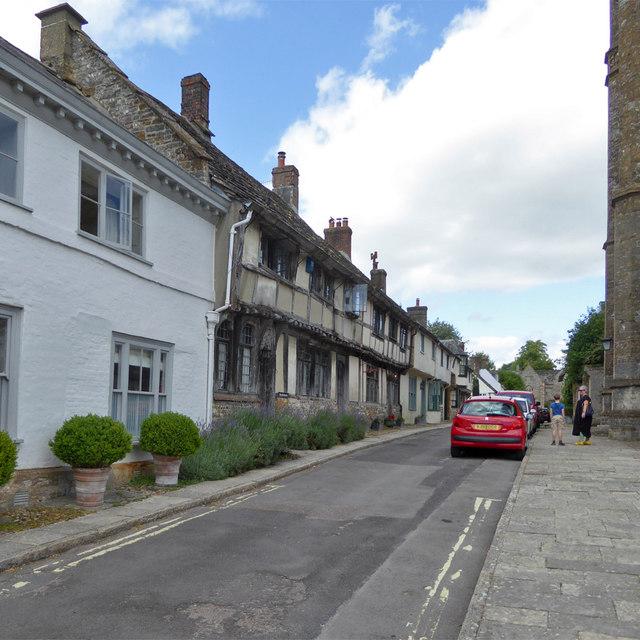 Old houses on Abbey Street, Cerne Abbas
