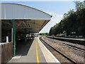 SS5532 : Barnstaple railway station canopy by Jaggery