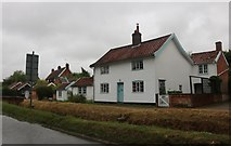 TM3569 : Cottage on Chapel Street, Sibton by David Howard