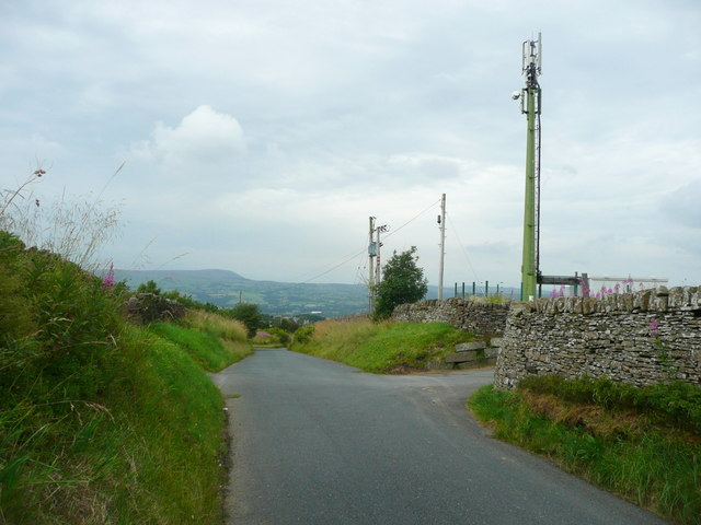 Radio Mast, Woodplumpton Road, Habergham Eaves