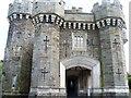 NY3701 : Wray Castle [1] by Michael Dibb