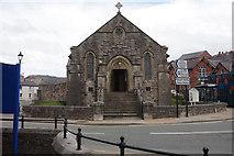SJ0566 : The Church Hall on Henllan Place, Dinbych by Ian S