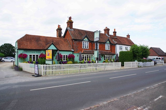 Cottage Inn (1), 26 Broad Lane, Upper Bucklebury, Berks