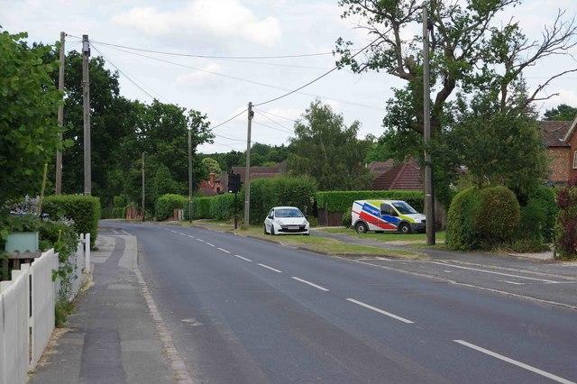Broad Lane, Upper Bucklebury, Berks