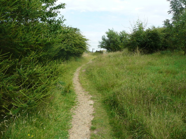 Footpath off Crown Point Road, Habergham Eaves