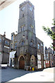 SW6942 : Clock Tower, Fore Street, Redruth by Jo Turner