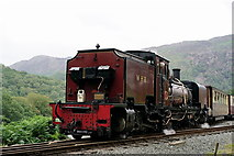 SH5848 : Departing Beddgelert Station by Peter Trimming
