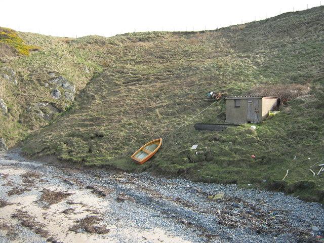 Fisherman's hut at Porth Ferin