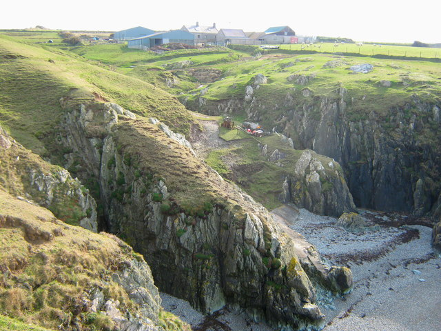 The complexity of Porth Ferin