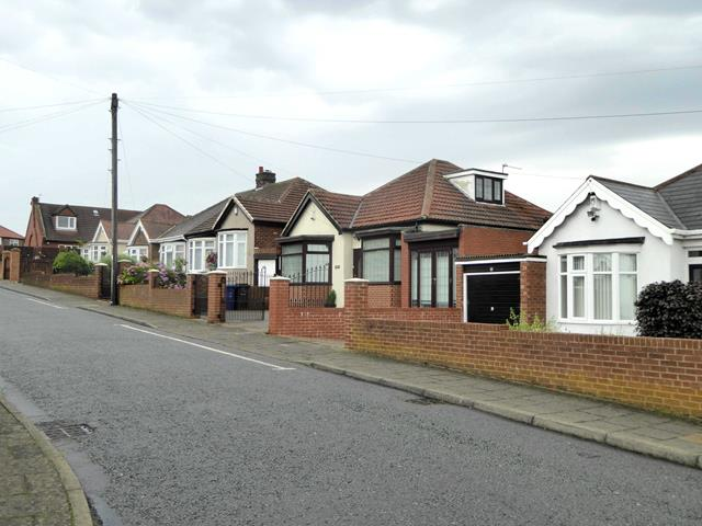 Bungalows in Kelso Gardens, Benwell
