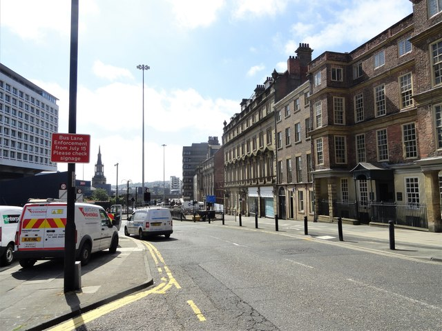South end of Pilgrim Street