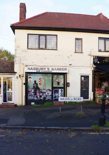 Hasbury's Barber, 10 Wassell Road, Hasbury, Halesowen