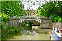 ST7565 : Cleveland House / Kennet & Avon Canal by Ibn Musa