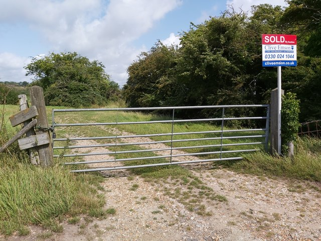 Gateway to a Sold Plot of Land