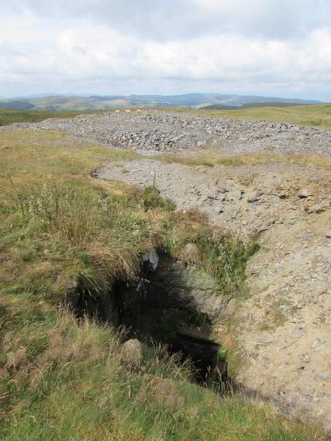 Davey Shaft, Glog Fawr Mine
