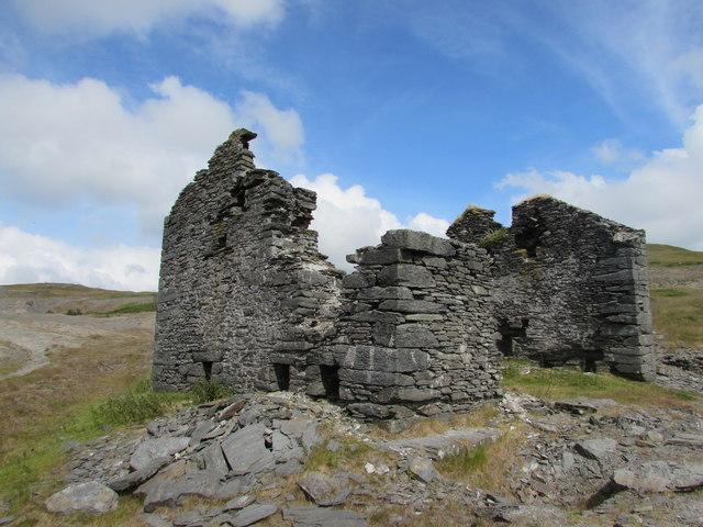 The Old Crushing House, Glog Fawr Mine