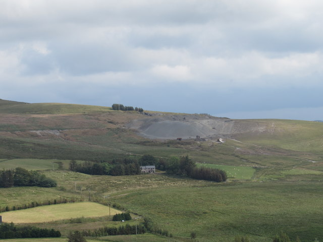 Esgair Mwyn across the Marchnant Valley