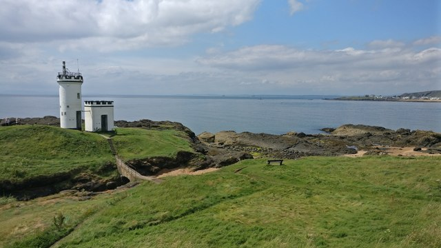 Lighthouse at Elie Ness