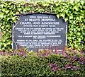 SU8604 : St Mary's Hospital notice board by Gerald England